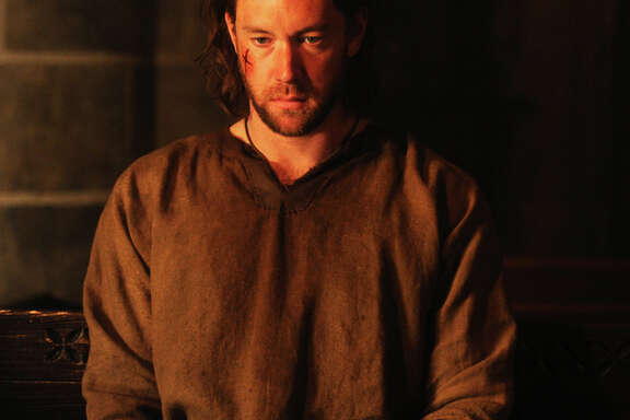 "Lee Jones plays gifted warrior Wilkin Brattle in ""The Bastard Executioner."""