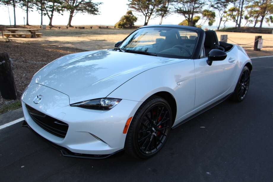 The 2016 Mazda MX-5 Miata Club series. Price, including $3,400 Brembo brakes and alloy wheel package, is $32,820. (Photos by Michael Taylor)