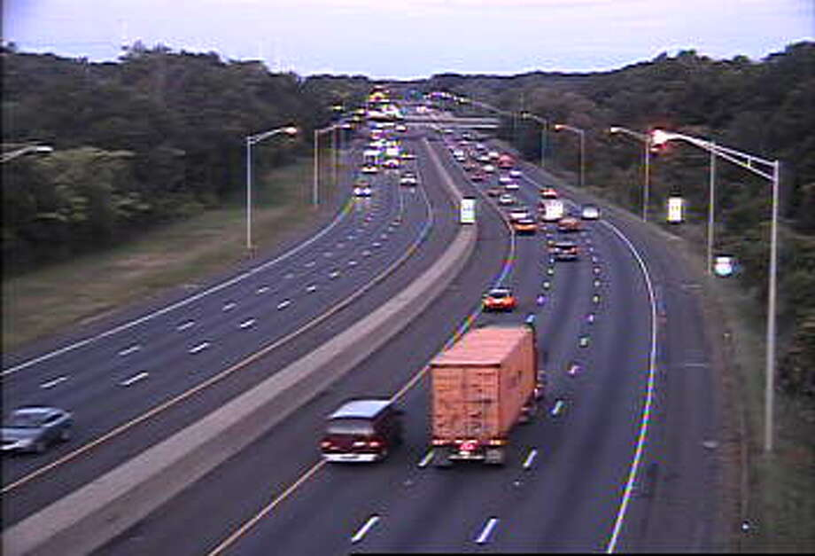 I-95 south in Westport, 6:30 a.m. on Monday, Sept. 14 Photo: /