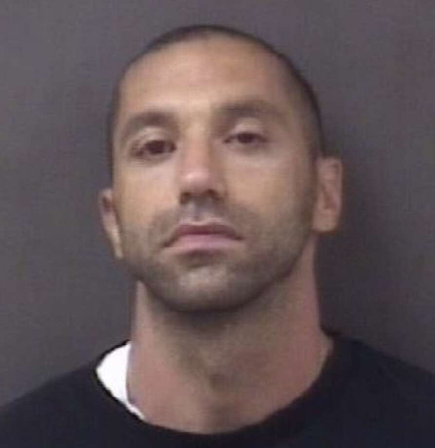 Robert Chadronet, 37, has been charged in connection with an August, 2015 holdup of a People's United Bank branch in Milford. Photo: Contributed Photo / Milford Police