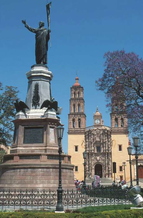 Monument to Miguel Hidalgo y Costilla in Hidalgo, Guanajuato. Photo: Mexican Tourism Board / handout email