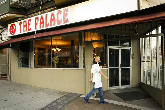 Chef Manny Torres walks a few minutes to his other restaurant, The Palace, on Thursday, Sept. 10, 2015 in San Francisco, Calif. Torres works with a small staff and goes between the two restaurants nightly.