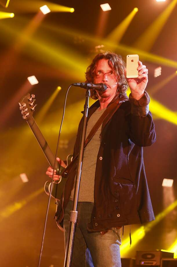 Chris Cornell will play the classics and songs from his latest album. Photo: Jack Plunkett, Associated Press