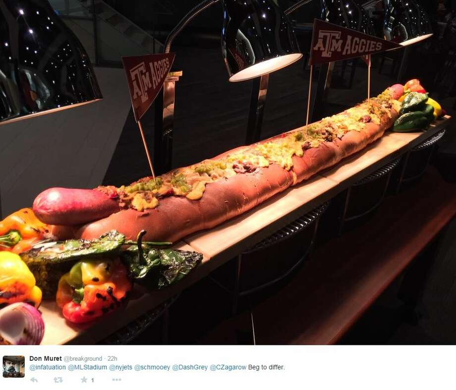 This 4 Foot 12 Pound Hot Dog Needs A 12th Man To Eat At