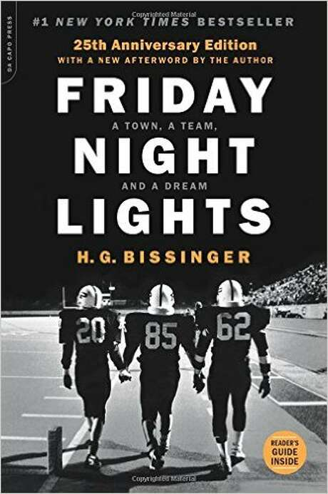 "In 2004, H.G. Bissinger discussed the film ""Friday Night Lights,"" which was based on his book but took generous liberties with the truth."