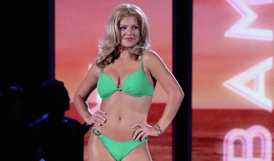 Miss Alabama, Meg McGuffin attends the 2016 Miss America Competition at Boardwalk Hall Arena on September 13, 2015 in Atlantic City, New Jersey.PHOTOS: The Miss American Swimsuit Competition ... Photo: Donald Kravitz, Getty Images / Getty, 2015