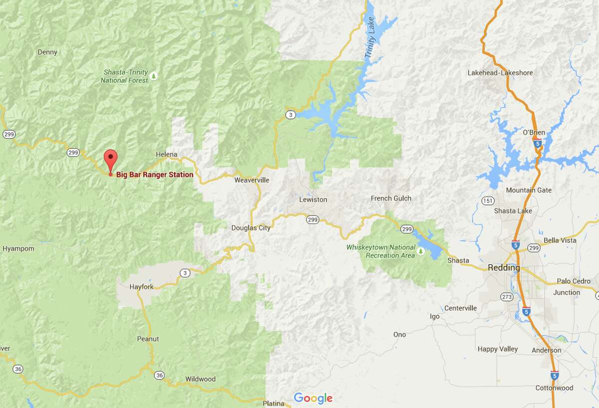 20. Big Bar Complex fire, 1999, Tehama County Cause: Lightning Damage: 140,948 acres, 0 structures, 0 fatalities
