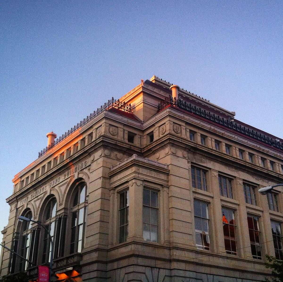Troy Savings Bank Music Hall, Troy, NY. Photo credit: @amythstldy