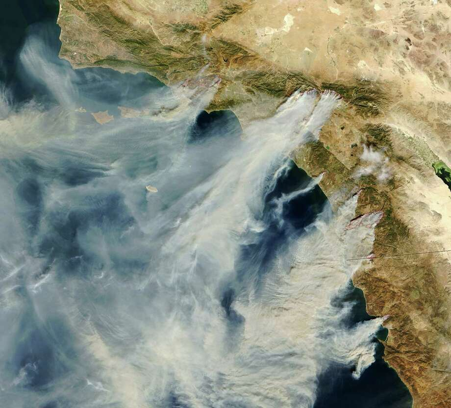 Click through the images to see the top 20 largest wildfires in California in modern times. Cal Fire's reliable records date back to 1932, the year of the massive Matilija fire in Ventura County, which burned 220,000 acres. Photo: NASA, Getty Images / WireImage