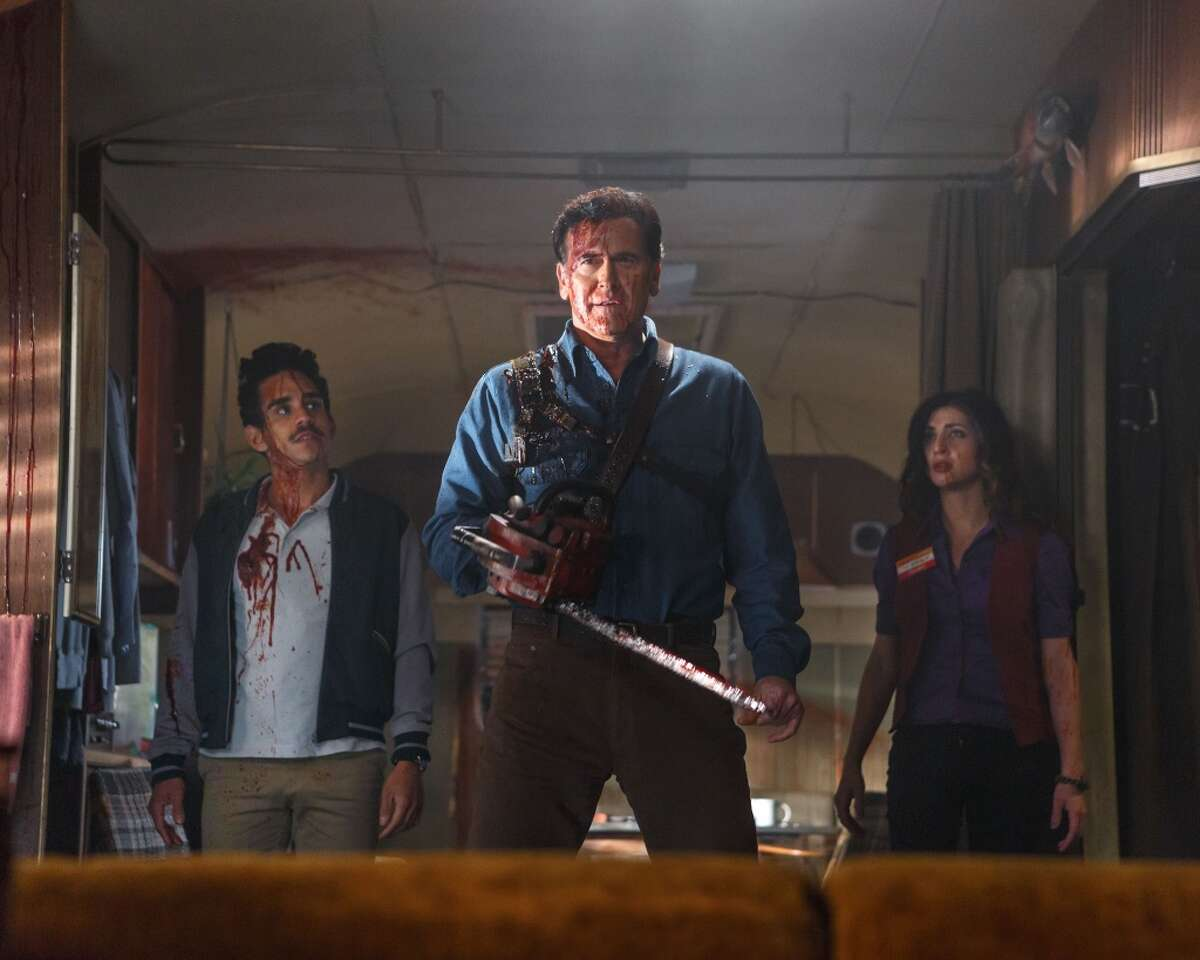 Ash Vs. The Evil Dead Based on Sam Raimi's classic horror series, The Evil Dead, Ash is back to fight the good fight in this new horror/comedy series debuting on Starz on Saturday, October 31st.