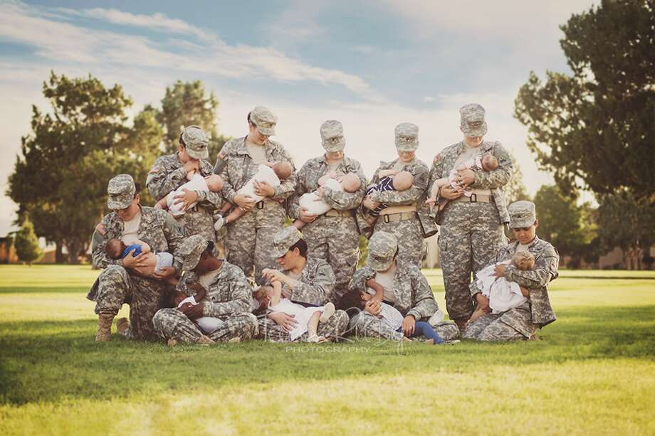 One photo out of Fort Bliss in El Paso, Texas is showing female Army soldiers in a way most have never seen them before.