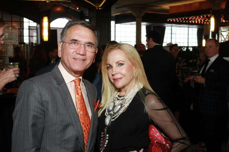 David Acosta and Carolyn Farb  Photo: Gary Fountain, For The Chronicle / Copyright 2015 by Gary Fountain