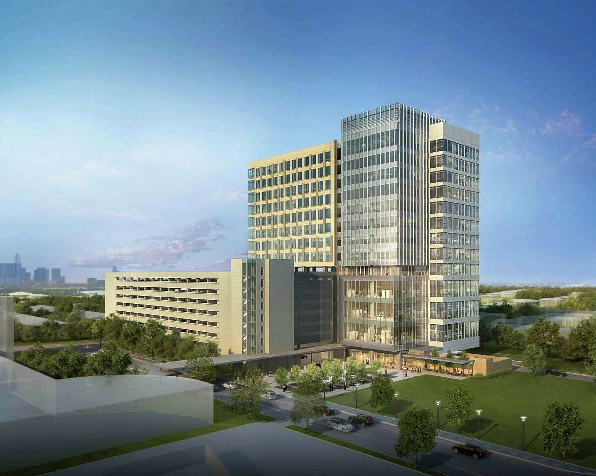 Midway plans to break ground on its 13-story building after it finds a tenant for two or three floors.