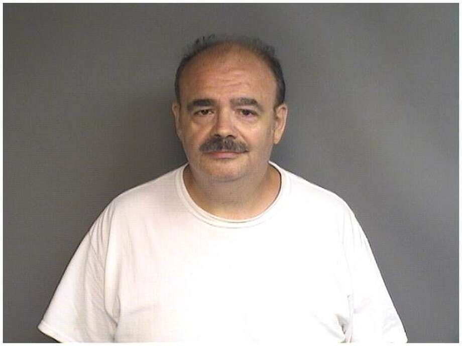 John Liska, 58, of Danbury, was arrested over the weekend by Stamford police for failing to keep state authorities up to date on his current living address as a convicted sex offender. Photo: Stamford Police / Contributed Photo / Stamford Advocate Contributed