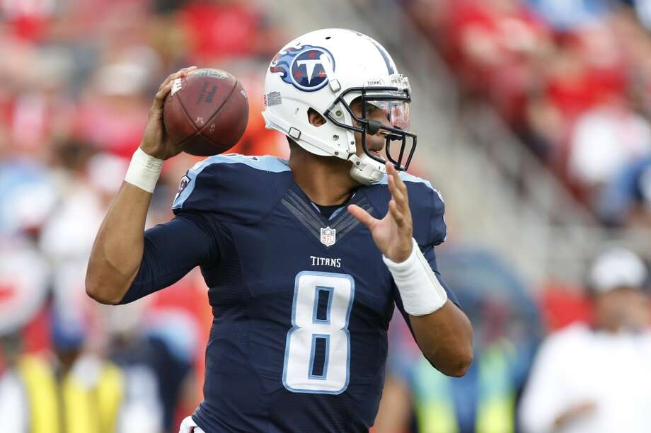 "WINNER: Marcus MariotaTrust us, you're not the first person in your fantasy league to put in a waiver request for the Titans' rookie quarterback. Mariota was nearly flawless in the Titans' season-opening win at Tampa Bay, going 13 for 16 for 209 yards and four touchdowns. In fact, ""nearly flawless"" isn't even really accurate, since he finished the game with a rare perfect QB rating of 158.3. Photo: Brian Blanco, Associated Press"