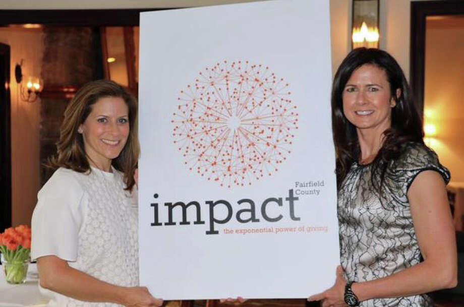 Wendy Block, left, and Vicki Craver are co-founders and co-presidents of Impact Fairfield County. Photo: Contributed / Contributed Photo / Greenwich Time Contributed