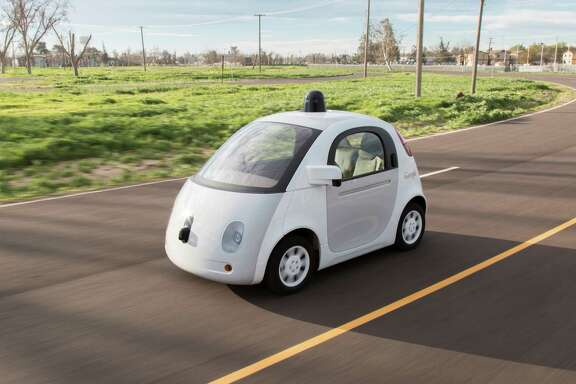 Google's self-driving car is tested in California. Though Google's autonomous- vehicle division has a new CEO, the company will not build cars any time soon.