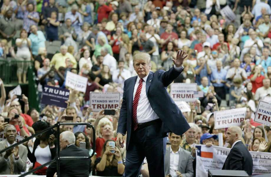 Donald Trump's comments on illegal immigration drew the most applause. Photo: LM Otero, STF / AP