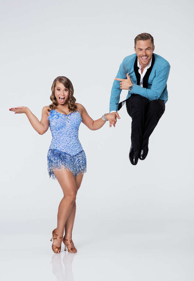 BINDI IRWIN & DEREK HOUGH Photo: Craig Sjodin, ABC