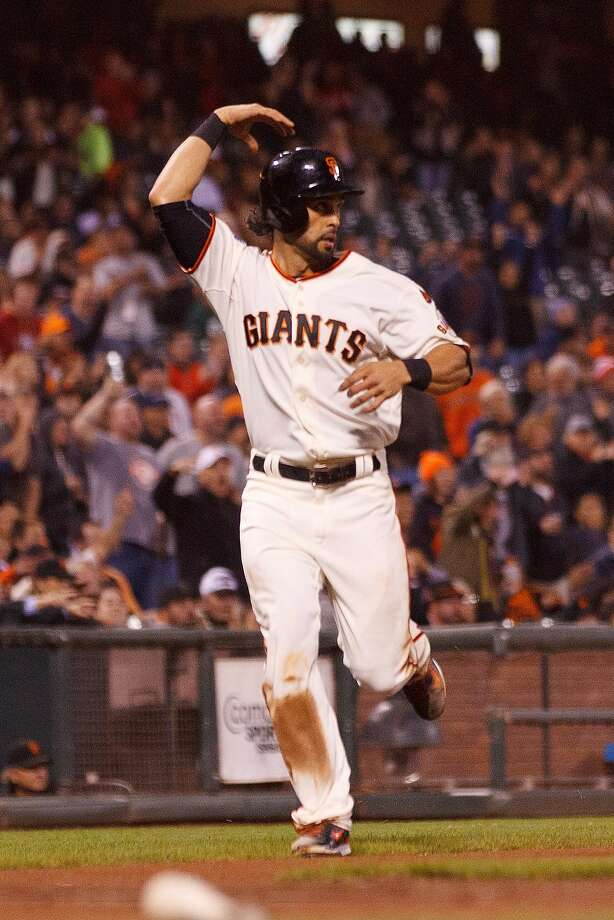Angel Pagan has 'a chance to get more at-bats and stay healthier' by moving to left field, according to Bruce Bochy. Photo: Jason O. Watson, Getty Images