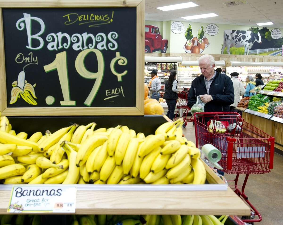What we learned about Trader Joe's from its podcast Bananas are 19 cents each, thanks to one customer.Bananas were initially sold in bunches, but without scales in the store, that meant the fruit was weighed out and bagged at a warehouse before arriving at a store, with the smallest bag containing about four bananas, according to TJ's CEO and chairman Dan Bane. One day, Bane said he saw an older customer look at the banana display but then move on without picking up a bag. He asked her why she didn't buy any bananas, to which she replied,