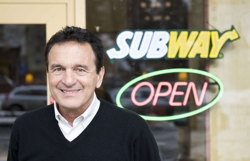 Fred DeLuca received a $1,000 loan from a family friend, Dr. Peter Buck, to open the first shop, called Pete's Super Submarines, in 1965. The shop was originally a way to help pay for DeLuca's education.