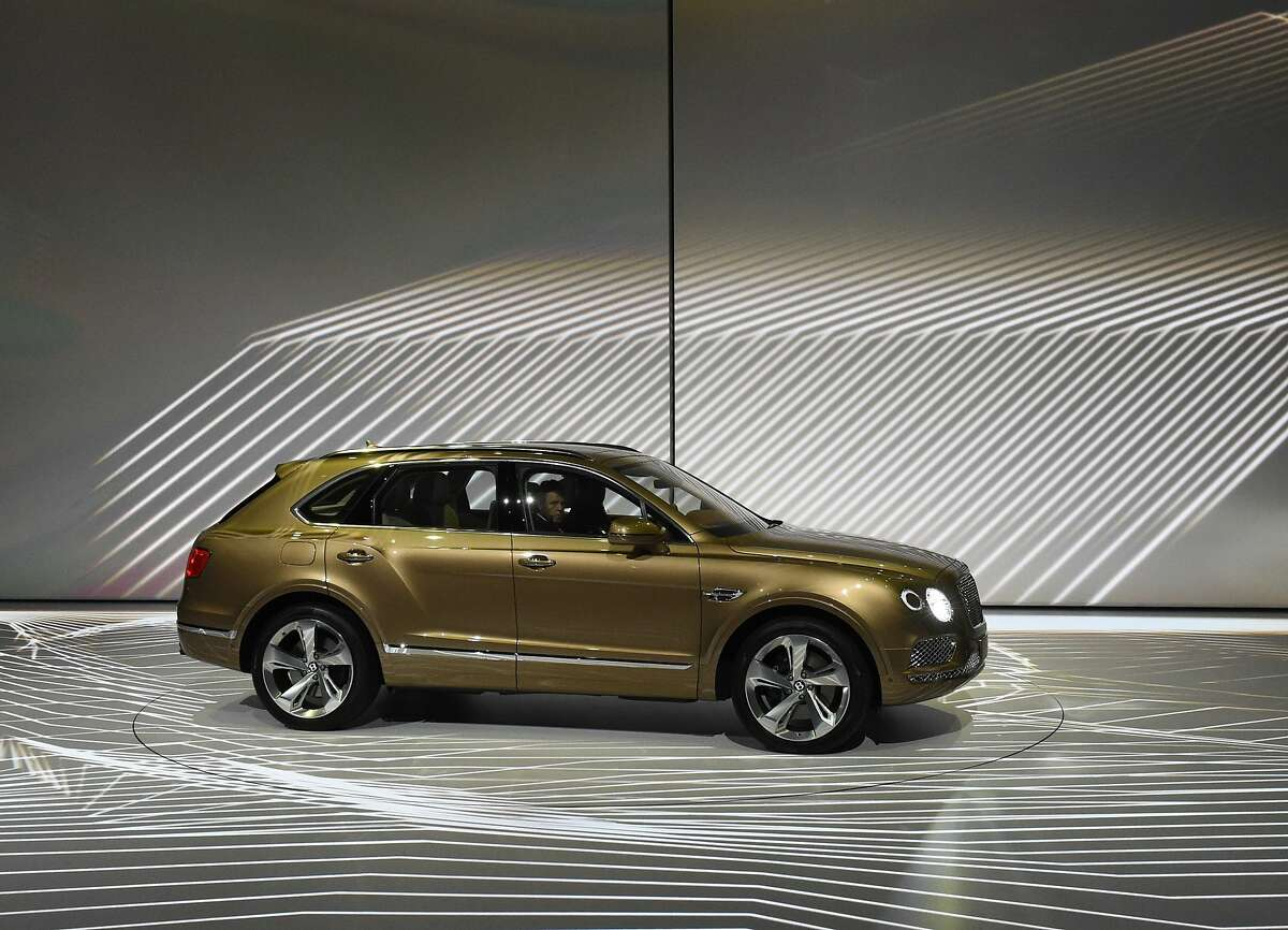 Volkswagen's luxury brand Bentley launched the Bentayga, billed as the most exclusive and luxurious SUV in the world and the brand's most technologically advanced car ever. The Bentayga has a massive 12-cylinder engine and a top speed of 187 mph (301 kph). It also has all the technology one expects in a luxury car, including a park assist to help squeeze into tight spots, infrared to see wildlife at night as well as integrated wifi, navigation and entertainment systems. But Bentley's charm lies also in its exclusive artisanal accents. Buyers can opt for an integrated event seat for watching polo matches from the comfort of the car, and can be fitted with three hampers for champagne, tea service and nibbles. The hampers can be removed as portable seating. The handcrafted interior can include a Breitling dashboard clock in white gold, mother of pearl and diamonds that winds itself and costs as much as the car. While the concept was ballyhooed as a product for the Gulf states, the recovery in the U.S. and European markets has broadened the market considerably. Plug-in electric and diesel versions are planned. The Bentayga will sell for 175,200 euros in Europe and $221,600 in the United States.