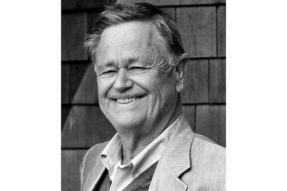 Retired FAMSF Director Harry Parker at home in Fishers Island New York.