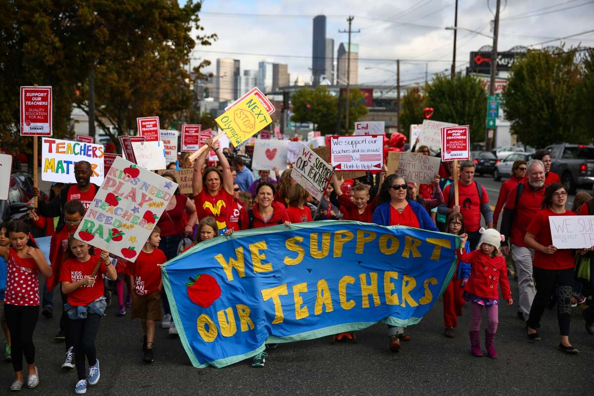 Seattle teachers Median income (2016): $64,900 Median list price (2017): $517,925 % of affordable listings (2017): 20.73 %of affordable listings for two-income (2017): 65.78