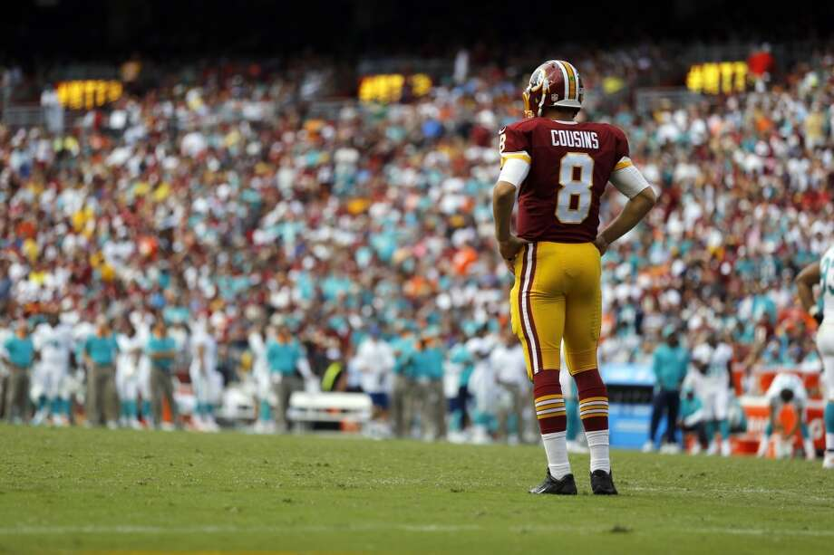 32. Washington (0-1) Last week:32  Washington blew a 10-0 lead at home before losing 17-10 to Miami. Quarterback Kirk Cousins gets another chance at home against St. Louis. Photo: Patrick Semansky, Associated Press