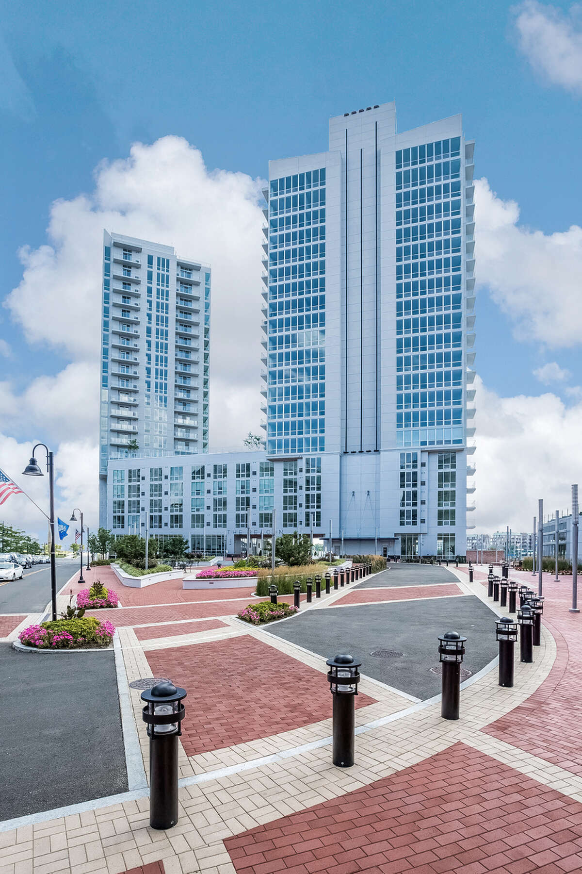 The Beacon, the newest high-rise at Harbor Point, is 50 percent occupied six months after being introduced to the rental market.