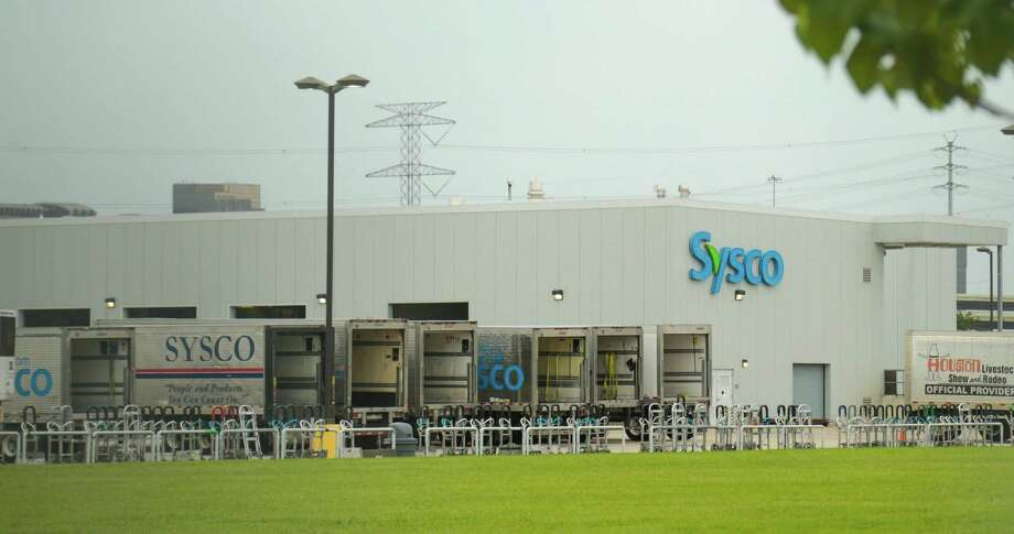 Sysco Houston Inc. food products supplier at 10710 Greens Crossing Blvd. in Houston, Texas June 29, 2015.  (Billy Smith II / Houston Chronicle) / Houston Chronicle