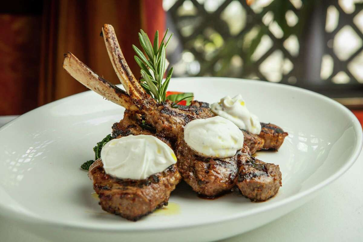 Da Marco: Lamb chops scottadito Da Marco restaurant's lamb chops scottadito.