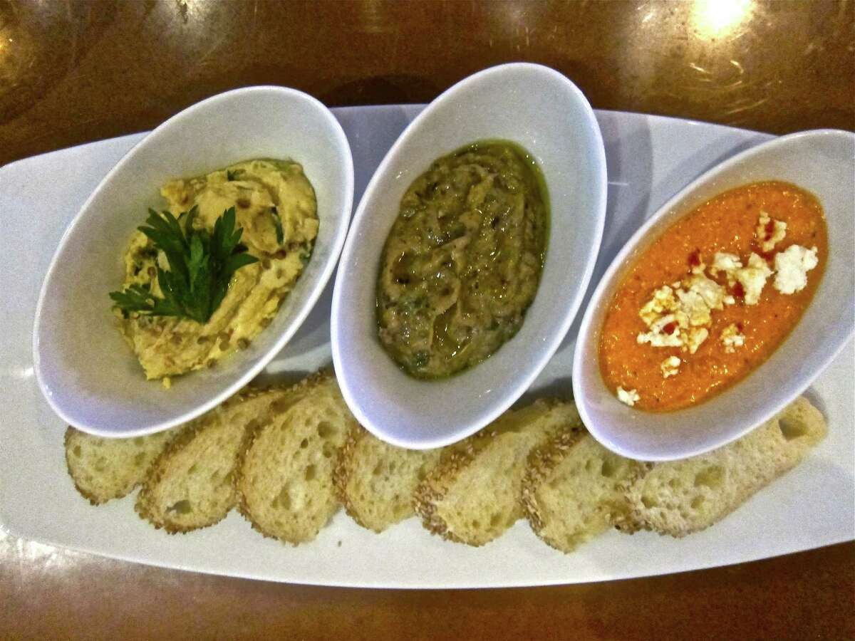 Helen Greek Food & Wine: A trio of dips