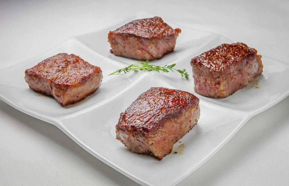 Steak flight at Killen's Steakhouse in Pearland.