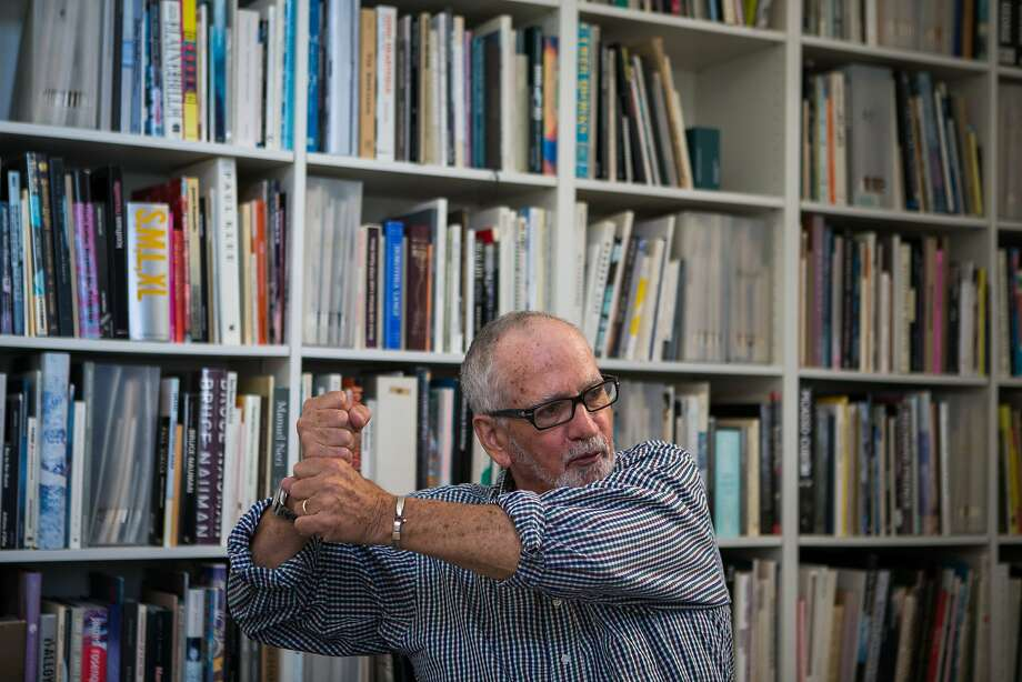Peter Plagens discusses his career as an artist and art critic on Sept. 9, 2015, in San Francisco. Photo: Nathaniel Y. Downes, The Chronicle