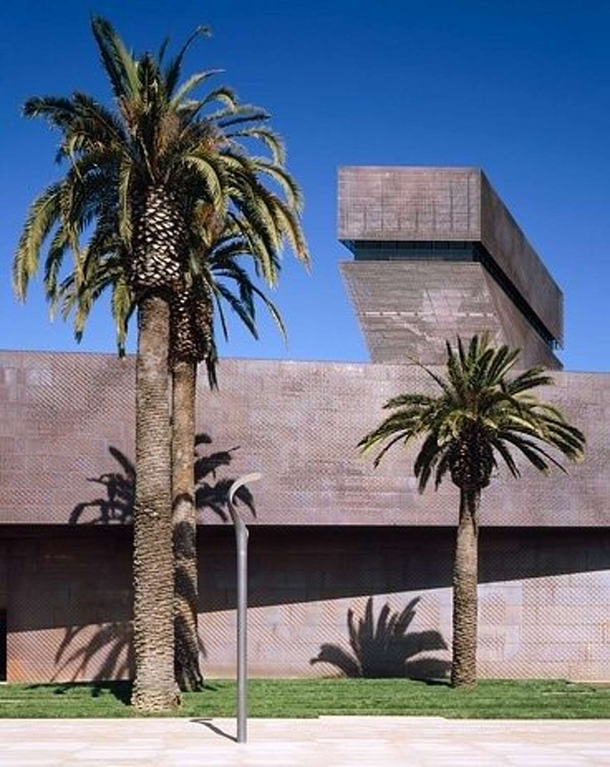 AThe Tower of the new de Young Museum.