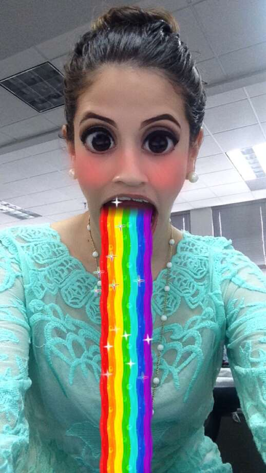 Rainbow puke lens Photo: Madalyn Mendoza