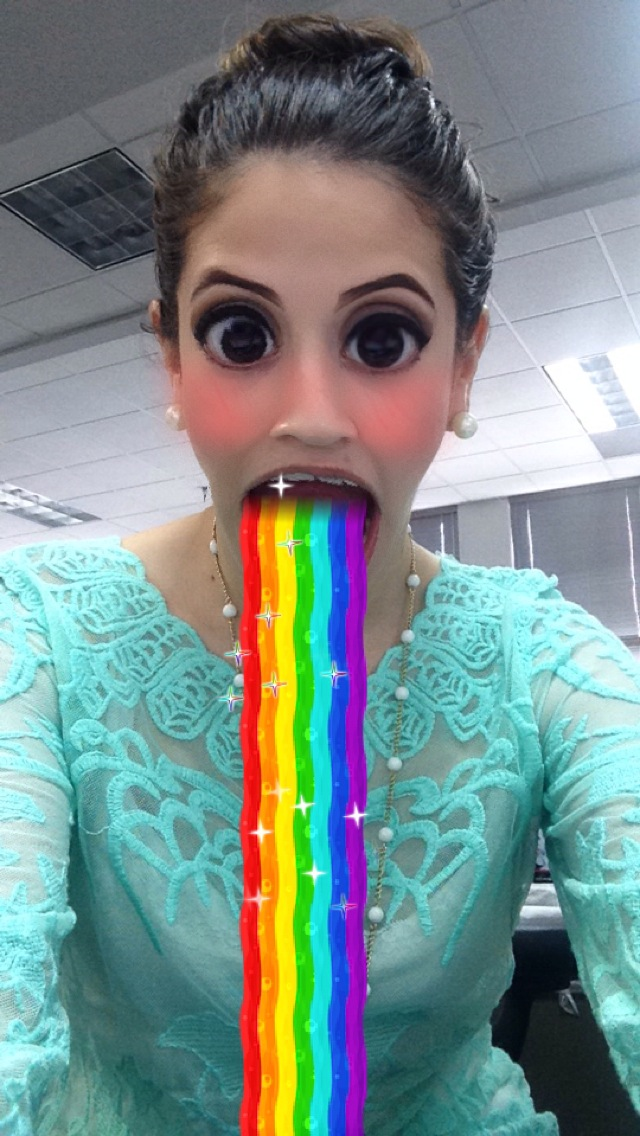 Snapchat's update allows users to age themselves, vomit ...