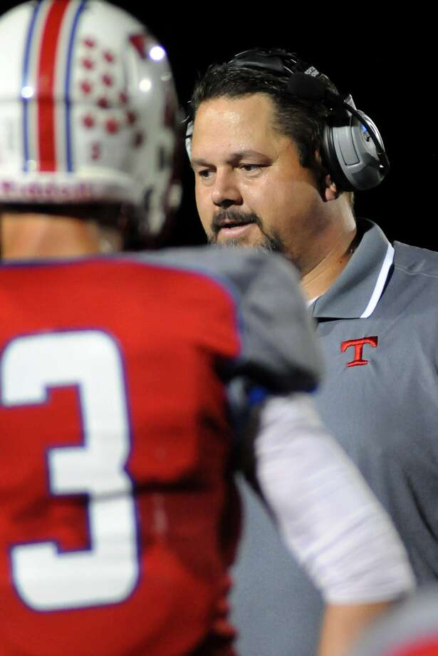 Tomball football coach Danny Ramsey has the Cougars on the prowl for a playoff berth. Photo: Jerry Baker, Freelance