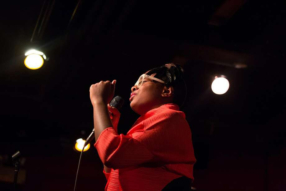 Cecile McLorin Salvant is doing two shows at SFJazz this weekend. Photo: Ebru Yildiz, New York Times