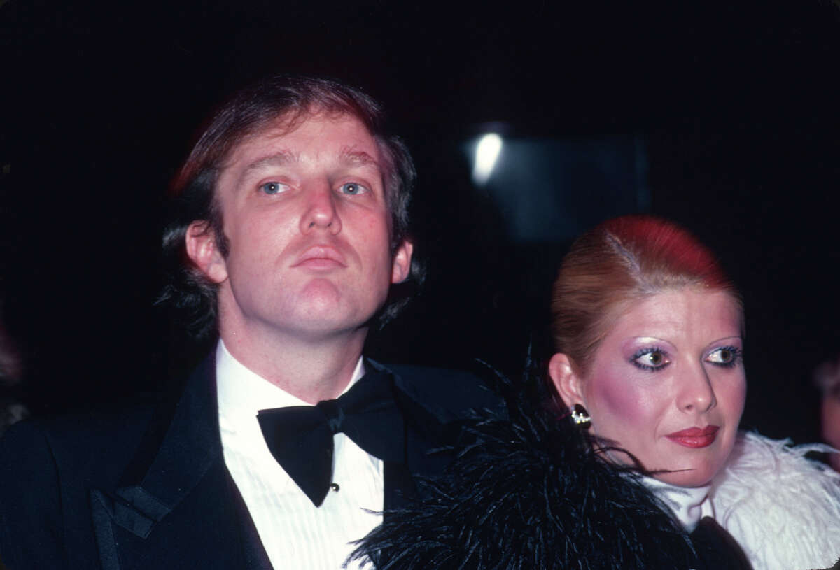 THEN: Donald Trump, circa 1980.