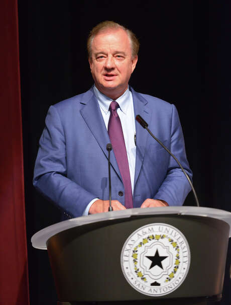 John Sharp, chancellor of the Texas A&M University System, announced Tuesday that the flagship will open a campus in McAllen, starting in 2017. Photo: File Photo / San Antonio Express-News