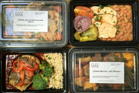 Four meals from Be Your Max, a weekly delivery service