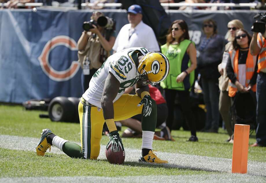 James Jones looked more like the player who had 14 TDs in 2012 than the one who had only six last year for Oakland. Photo: Nam Y. Huh, Associated Press