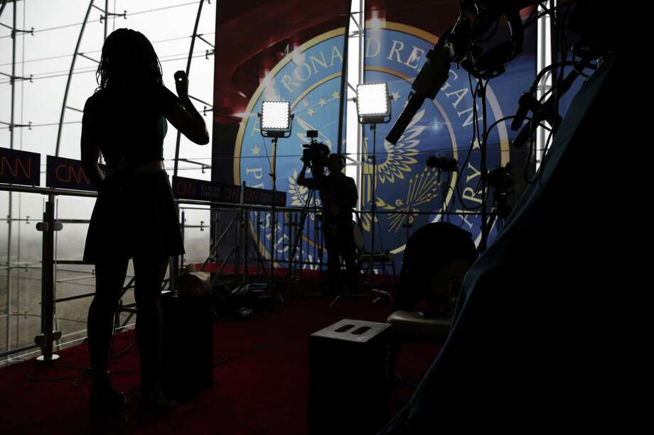 CNN is planning a more intimate setting than Fox News had for its televised debates in August. Producers also are planning to ask the audience of 400 not to cheer or boo. Photo: MAX WHITTAKER, STR / NYTNS