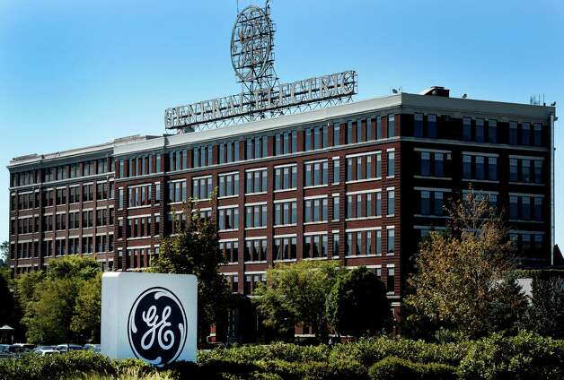 Exterior view of the main building at the General Electric plant Tuesday morning Sept. 15, 2015 in Schenectady, N.Y.    (Skip Dickstein/Times Union) Photo: SKIP DICKSTEIN / 00033368A