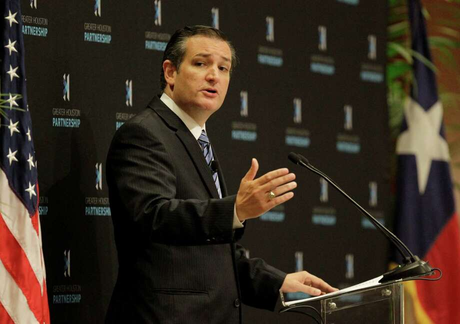 Congressional opponents of the Export-Import Bank include U.S. Sen. Ted Cruz, R-Texas. ( Melissa Phillip  /  Houston Chronicle ) Photo: Melissa Phillip, Staff / © 2015 Houston Chronicle