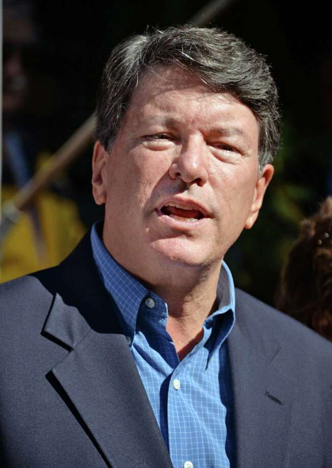 Republican John Faso formally announces his bid for Congress on the front steps of his home Tuesday Sept. 15, 2015 in Kinderhook, NY.  (John Carl D'Annibale / Times Union) Photo: John Carl D'Annibale / 00033359A