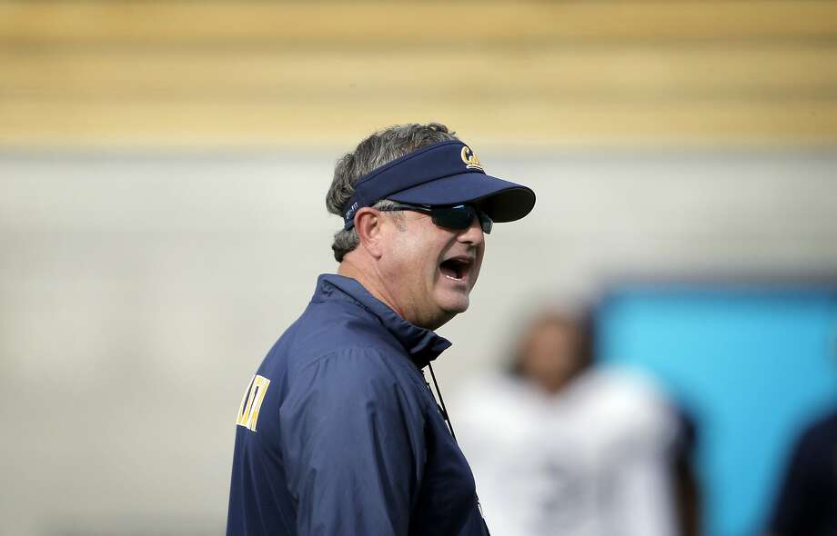 Head coach Sonny Dykes provided updates Sunday night on several player injuries. Photo: Carlos Avila Gonzalez, The Chronicle